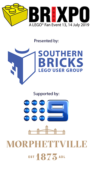 Brixpo is presented by Southern Bricks with support from Chanel 9